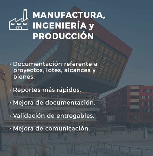 Manufactura, ingeniería y producción