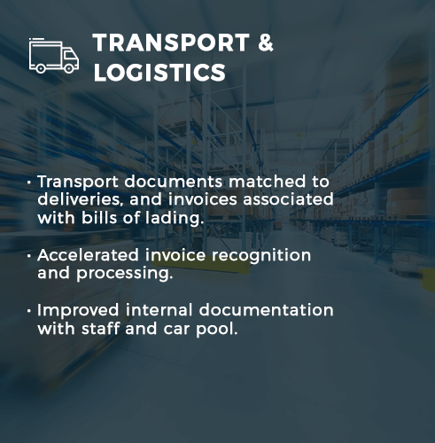 TRANSPORT & LOGISTICS